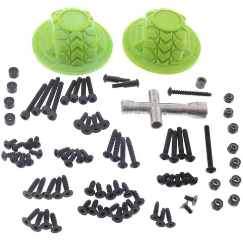 Axial 1/10 SCX10 Deadbolt * 85+ PIECE SCREW & TOOL KIT & GATE MARKERS * Wrench