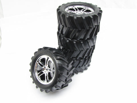 CLASSICT-maxx2.5TIRES(4WHEELS,Chevon14mm5173tyresTraxxas49104