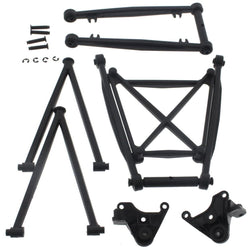 HPI 1/12 Wheely King 4x4 * SUSPENSION ARM RODS, MOUNTS & BRACE SET * Link Pivot by HPI Racing
