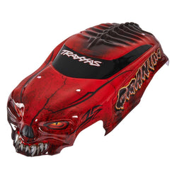 Traxxas 3634R Body Heavy Duty with Decals Craniac, Red