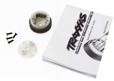 Traxxas 2381X Main Differential Housing with Steel Ring Gear