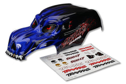 Traxxas 3633X Body Skully Blue Heavy Duty/Decals, 3633X