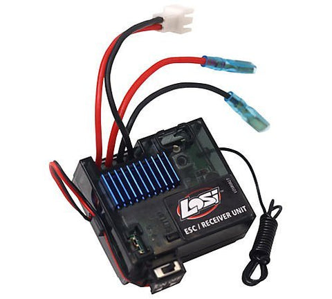 MRX-R14 ESC/Receiver (3-Wire Servo): Mini-DT by Team Losi