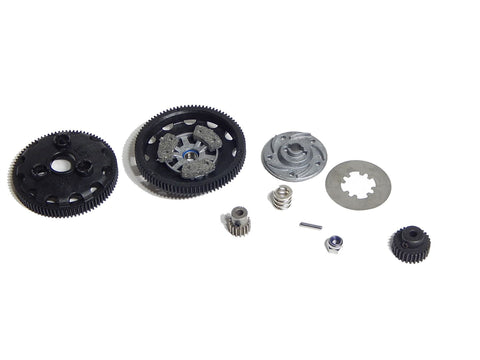 Traxxas Rustler Slipper Clutch with 86 & 90 Tooth Spur 16 & 28 Tooth Pinion Gears