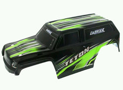 TRAXXAS LATRAX TETON BODY GREEN, GREEN BODY FOR THE 1/18 TRAXXAS TETON