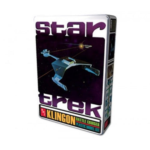AMT Star Trek Klingon Battle Cruiser Tin, Special Edition