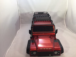TRAXXAS TRX-4 CRAWLER LAND ROVER DEFENDER BODY WITH ALL THE TRIMMINGS