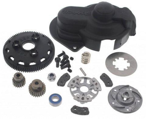 Traxxas 1/10 Stampede 2WD VXL 86T Spur Gear & Slipper Clutch with Pinion Gears