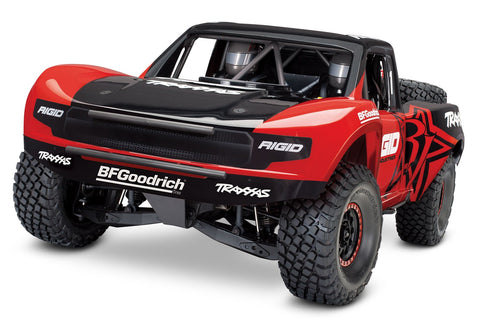 Traxxas 85076-4 Unlimited Desert Racer 4X4 RC Race Truck, Red