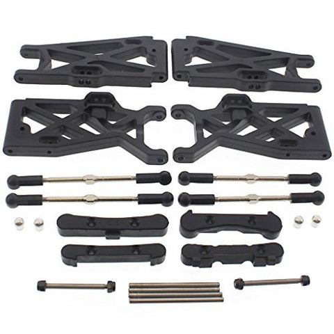 Losi 1/14 Mini 8ight-T Truggy SUSPENSION ARMS, TURNBUCKLES, HINGE PINS, MOUNTS by Team Losi