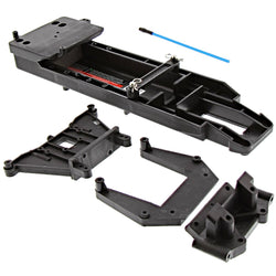 Traxxas 1/10 Craniac 2WD CHASSIS, ESC PLATE, SHOCK TOWERS & BATTERY HOLD DOWN