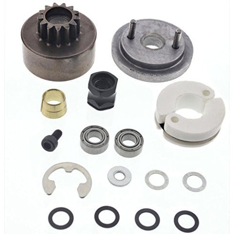 HPI 1/10 Bullet MT ST Nitro Star G3.0 FLYWHEEL, CLUTCH BELL, SHOES & BEARINGS by HPI Racing
