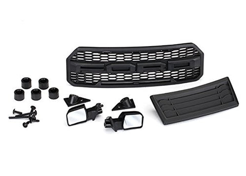 5828 - Body accessories kit, 2017 Ford Raptor ( grille, hood insert, side mirrors, & hardware)
