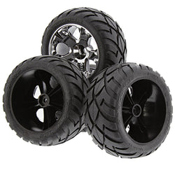 Traxxas Jato 3.3 *TIRES & WHEELS* Anaconda Glued 12mm