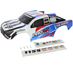 AE Team Associated 1/10 ProSC ProLite * RED, WHITE & BLUE BODY, DECALS & CLIPS *