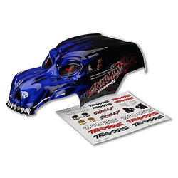 Traxxas Body Skully Blue w/ Decals by Traxxas