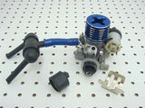 TRAXXAS NITRO STAMPEDE TRX .15 ENGINE & EZ START MOTOR EXHAUST CARBURETOR 4007