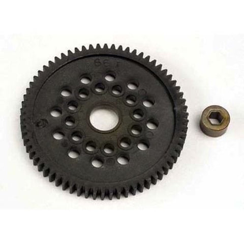 Qiyun Traxxas 3166 Spur Gear 66T 66 T Tooth 32P 32 P Stock Nitro Stampede