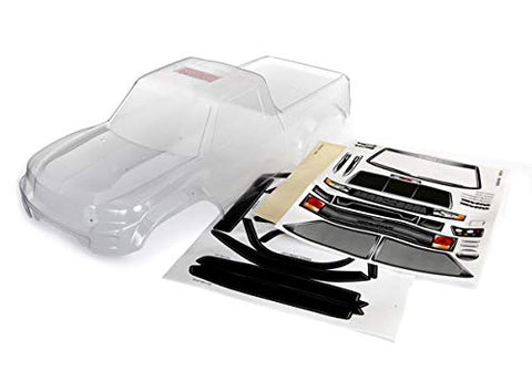 Body, TRX-4 Sport (Clear, Trimmed, Requires Painting)/ Window Masks/Decal Sheet