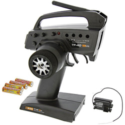 HPI 1/10 E-Firestorm Flux TF-40 3-CH RADIO TRANSMITTER & RF-40WP RECEIVER RX