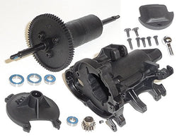 Traxxas 1/8 Funny Car Differential, Gearbox, Pinion Gear & Bearing