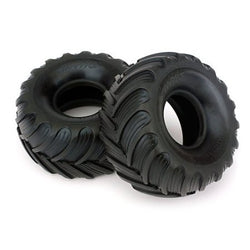 Traxxas 7267 Dual Profile Tires, Left and Right, 1/16 Grave Digger