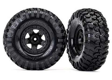 TRAXXAS 8181 TRX-4 SPORTS TIRES AND WHEELS