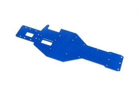 TRAXXAS NITRO RUSTLER BLUE ANODIZED ALUMINUM CHASSIS 4430