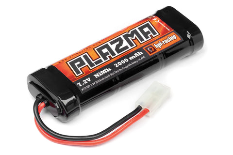 HPI Plazma 7.2V 2000Mah Nimh Stick Pack Re-Chargeable 101929