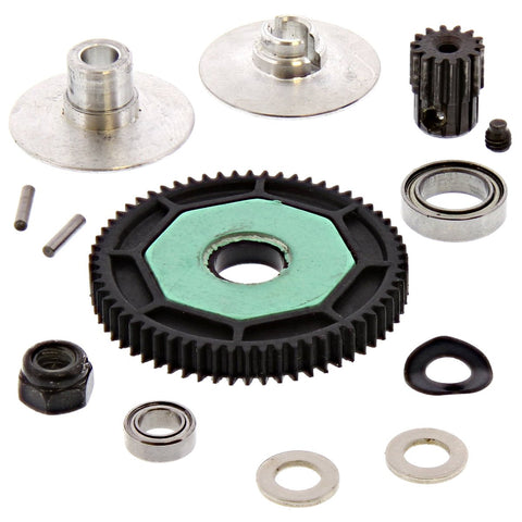 Losi 1/14 Mini 8ight-T Truggy * 62T SPUR & 14T PINION GEAR, SLIPPER CLUTCH PLATE