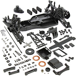 HPI 1/10 E-Firestorm 10T Flux * ROLLER ROLLING CHASSIS with Differential, Shocks