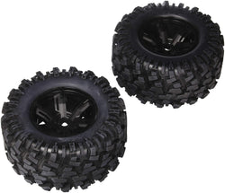 Traxxas 7772X Pre-Assembled X-Maxx Wheels & Tires (8S-Rated) Vehicle