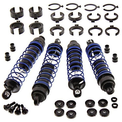 TRAXXAS COMPLETE SET OF SHOCKS FOR THE NITRO SPORT, SET OF (4) SHOCKS AND SPRINGS FOR THE NITRO SPORT READY TO INSTALL by Traxxas