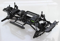 AXIAL 1/10 SCALE ROLLING CHASSIS FROM A READY TO RUN SCX10 DEADBOLT ROCK CRAWLER TRUCK FROM AXIAL RACING AX90044