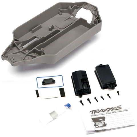 Traxxas Stampede 4x4 XL-5 * WATERPROOF RECEIVER BOX, GASKET, GREASE & CHASSIS *