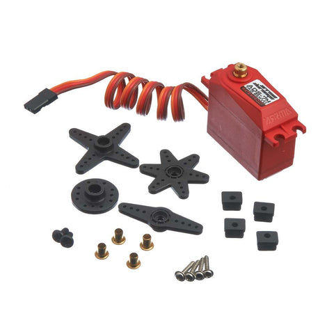 Arrma AR390136 ADS-7M V2 Waterproof Servo, Red, 6.5 kg
