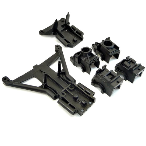 Traxxas 1/10 Slash 4x4 Platinum FRONT & REAR DIFFERENTIAL CASE & BULKHEADS