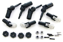 Traxxas Nitro 4-Tec 3.3 * DRIVE SHAFTS, AXLES, WHEEL NUTS & 12mm HEX HUBS *