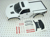 Traxxas Raptor Ford F150 Factory Painted White Body & Decals