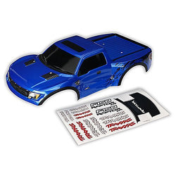 Traxxas 5815A Body, Ford Raptor; Blue (Painted w/Decals) Traxxas by Traxxas