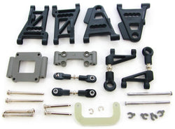 Traxxas Nitro 4-Tec 3.3 * SUSPENSION SET ARMS TURNBUCKLES RODS HINGE PINS MOUNTS