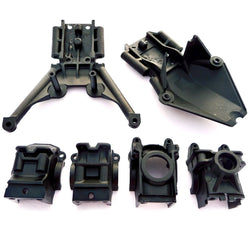 Traxxas Stampede 4x4 XL-5 * BULKHEADS, DIFFERENTIAL HOUSING CASES & SKID PLATES