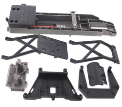 Traxxas Stampede 2wd XL-5 VXL * CHASSIS SHOCK TOWERS BULKHEAD BUMPER SKID PLATE