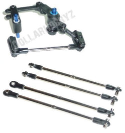 Traxxas E-Maxx Brushed *SERVO SAVER & TURNBUCKLES* Bell Crank / Steer Tie Rods