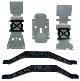 Traxxas E-Maxx Brushless * SKID PLATES & CHASSIS BRACE *