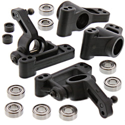 HPI 1/10 Jumpshot MT 2WD STEERING BLOCKS, FRONT AXLE CARRIERS & REAR HUBS