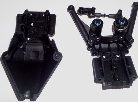 Traxxas Stampede 4X4 VXL Front and Read Skid Plates with Steering Linkage