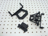 TRAXXAS NITRO SLASH F&R SHOCK TOWERS & BODY MOUNT POSTS 4439 4138 1914X 1914R