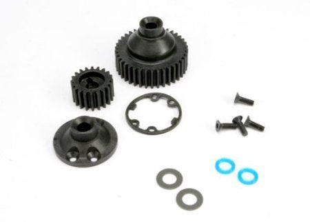 Traxxas 5579 Differential Gear, Side Cover, Gasket, and Output Gear Seals, Jato