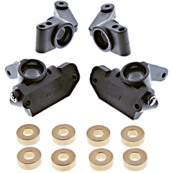 Traxxas 1/10 Craniac 2WD CASTER STEERING BLOCKS, STUB AXLE CARRIER & BUSHINGS